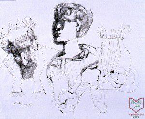 Szalay Lajos: Dávid és Saul