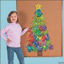 Karácsonyfa tenyérfestéssel