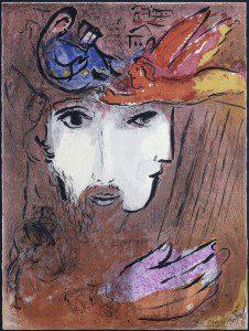 Marc Chagall: Dávid és Betsabé