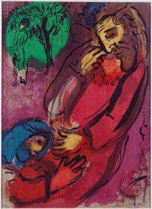 Marc Chagall: Dávid és Absolon