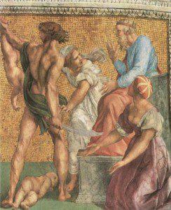 Raffaello: Salamon ítélete