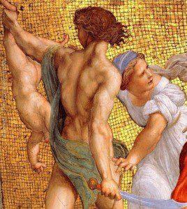 Raffaello: Salamon ítélete (részlet)