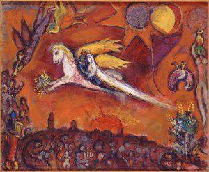Marc Chagall: Énekek éneke IV