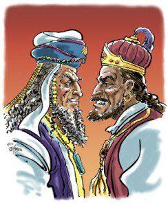 Jeroboám és Roboám