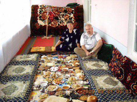 Vendéglátás Tadzsikisztánban