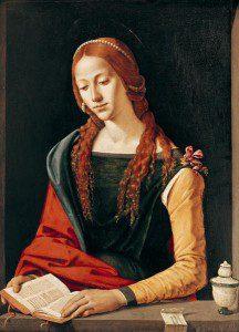 Piero di Cosimo: Mária olvas