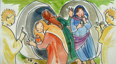 Fecske Orsolya: A kenetet vivő asszonyok az üres sírnál