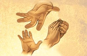 Imádkozó kezek