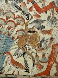 Folyópart, egyiptomi ábrázolás