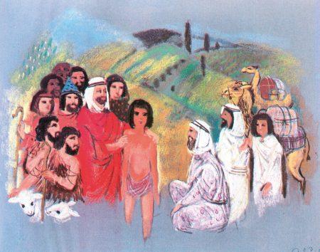 Szántó Piroska: Józsefet eladják testvérei