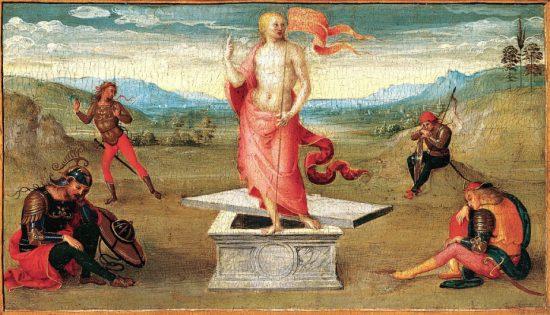 Pietro Perugino: Krisztus feltámadása (1502–1506)