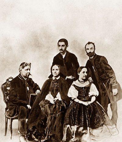 Arany János családja