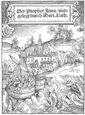 Lucas Cranach: Jónás próféta (1526)