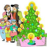 Csillagfényes karácsonyfa