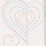 Szív sablonok